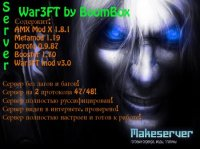 Server War3FT by BoomBox v2 [30 levels]